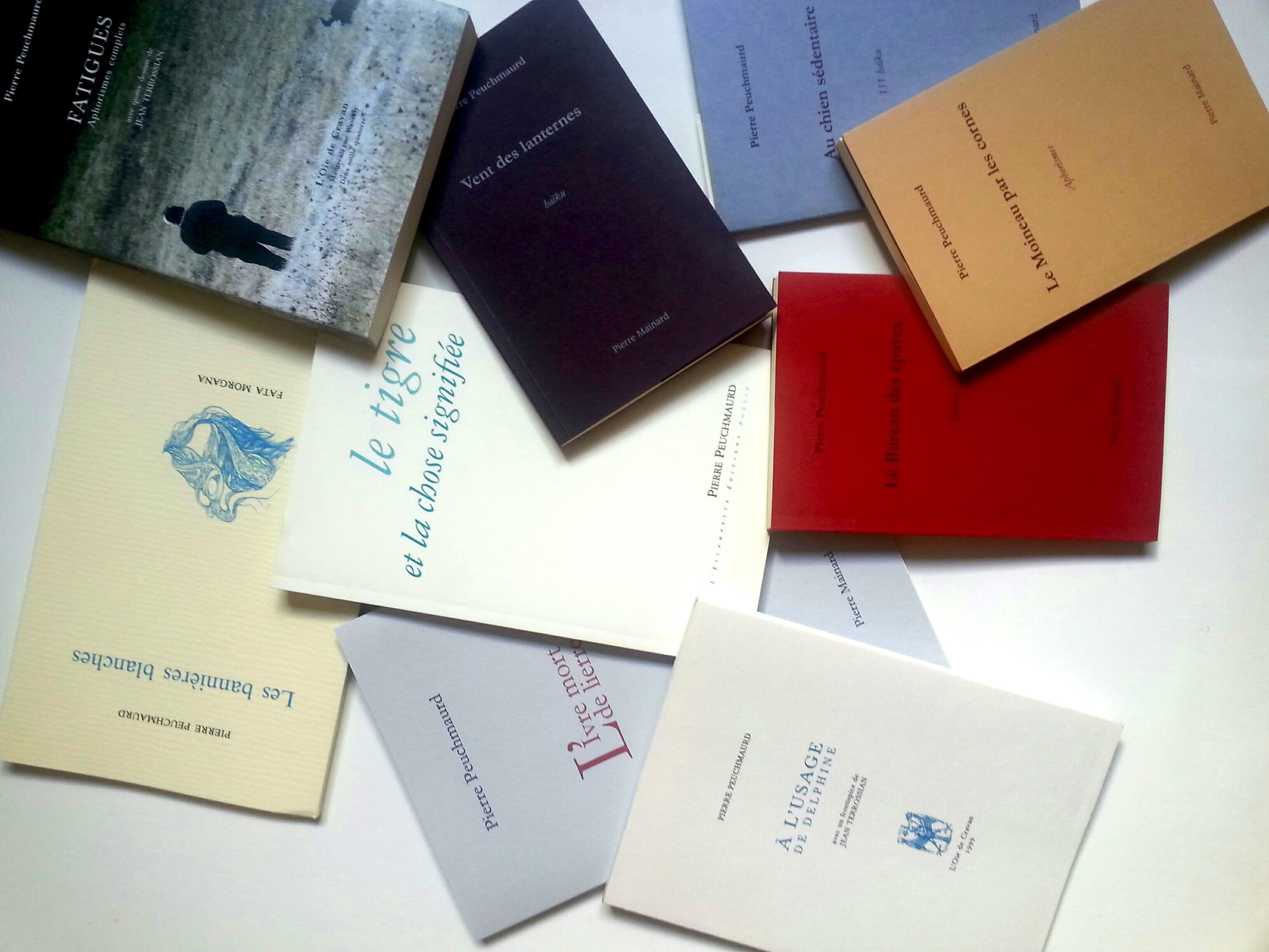 Peuchmaurd_livres