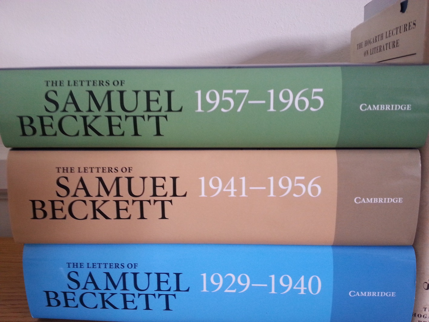 Beckett's Letters