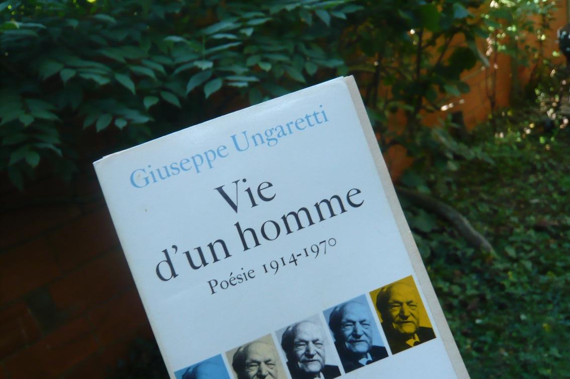 La vie d'un livre_ungaretti