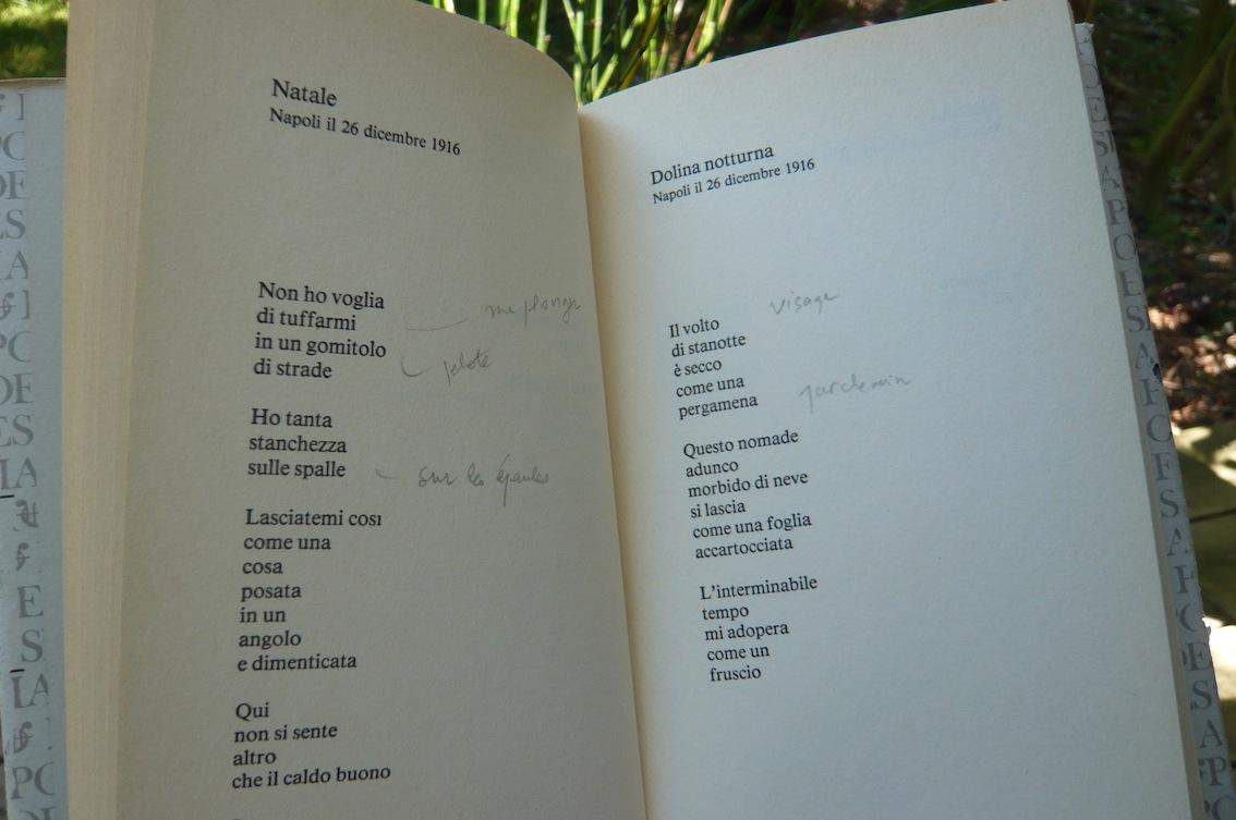 Ungaretti Poesie 1