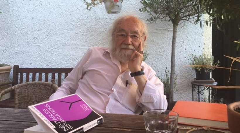 Lambert Schlechter sur sa terrasse à Wellenstein